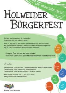 Holweider Bürgerfest 2017